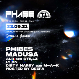 Phase Two: Freshers Drum & Bass Party w/ Phibes, Madusa,