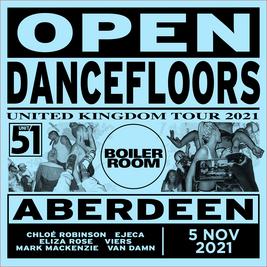 Boiler Room Open Dancefloors UK Tour