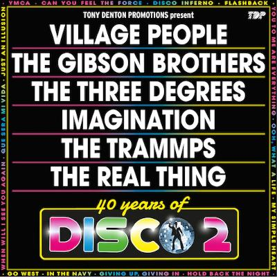 40 Years of disco 2   Brighton Arts Centre Brighton   Thu 21st March