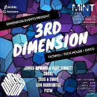 Dimension Presents - 3rd Dimension (3D) @ Mint Club - 18.10.18