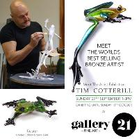 FROGMAN EXHIBITION - The Worlds Best Selling Bronze Artist Comes
