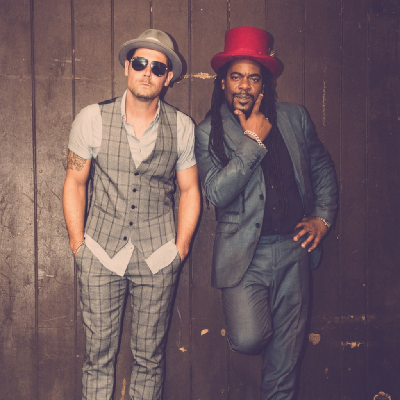 Tyber & Peter from `The Dualers` live 2019 tour