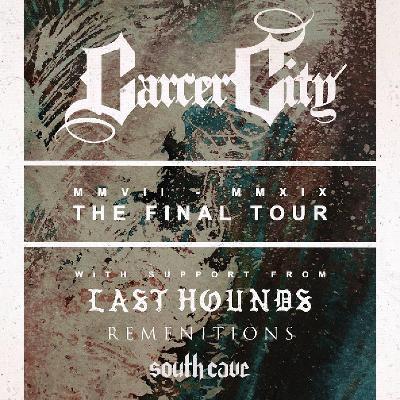 Venue Carcer City Final Tour Supports Orileys Live Music