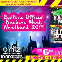 Salford freshers official freshers wristband