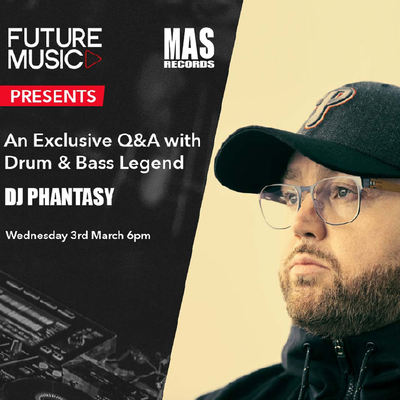 An exclusive Question & Answer masterclass with Drum and Bass Legend DJ Phantasy All proceeds will be going to Music Youth charities, so join us