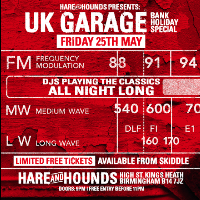 UK Garage Bank Holiday Special