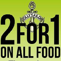 2 for 1 On Our Daily & Sunday Menu Throughout December!