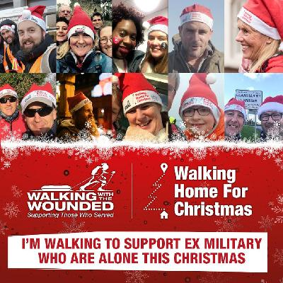 Walking Home For Christmas is Walking With The Wounded's annual walking challenge to raise funds for those who served.