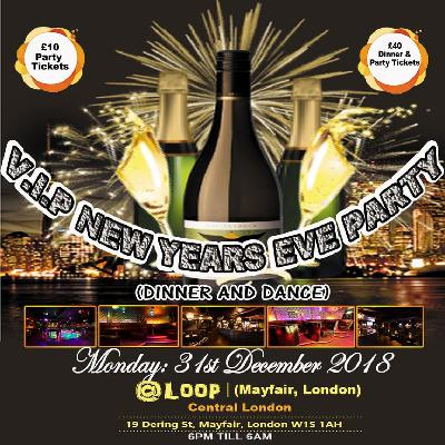 New Years Eve Party Mayfair Central London £5 limited tkts