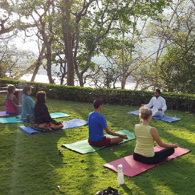 We offer residential 200 hour yoga teacher training in a peaceful and natural place in Rajaji National Park, Rishikesh.