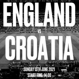 EURO 2021 - England vs Croatia