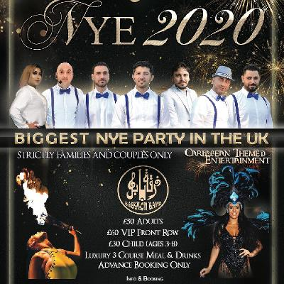 arabic new year's eve party manchester 2020 - حفلة رأس السنة -