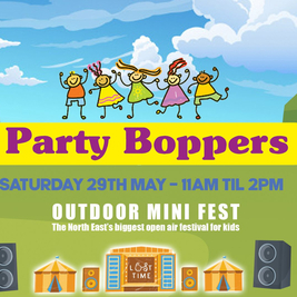 SOLD OUT!!! Party Boppers Outdoor Mini Fest