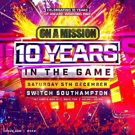 ON A MISSION 10th Birthday