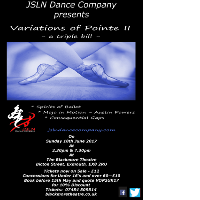 Variations of Pointe II - A Triple Bill