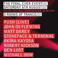 Majefa - The final ever event. Trance Special