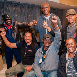 The Maytals Band celebrate Frederic