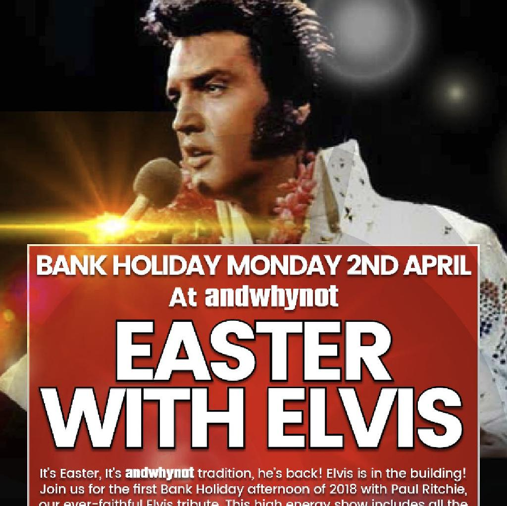 Easter with Elvis...