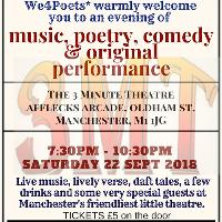 We4Poets Live at the 3 Minute Theatre