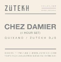 Zutekh presents Chez Damier