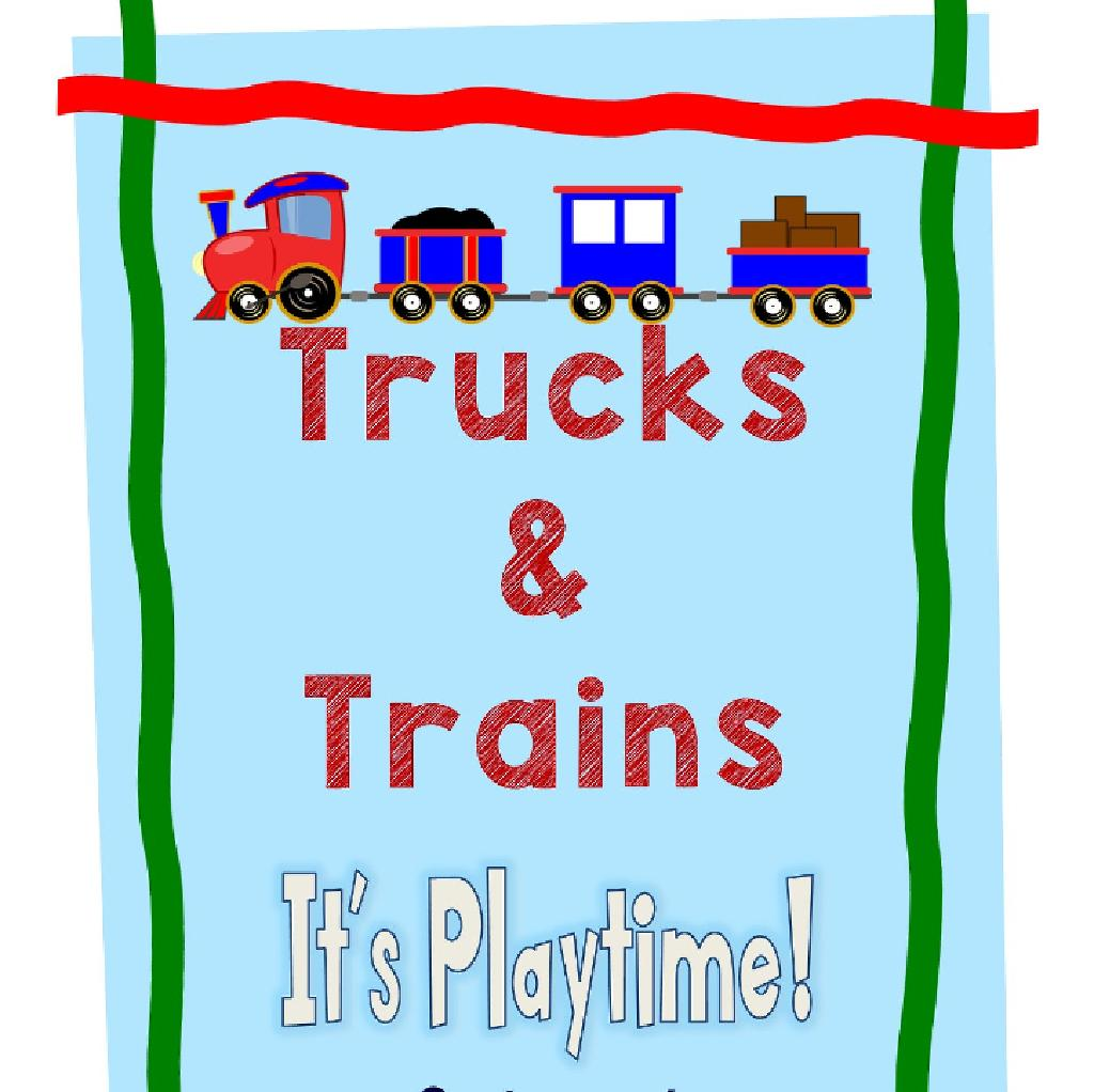 Trucks and Trains Halloween event