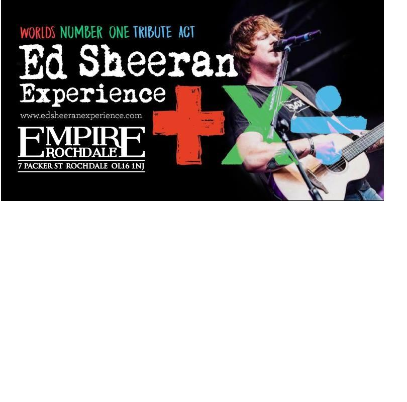Ed Sheeran experiance Worlds Number One Tribute Act - Ed Sheeran