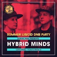 Summer Liquid DNB Party w/ Hybrid Minds, Spectrasoul, LSB