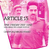 Article 15 screening- Birmingham Film Festival 2019
