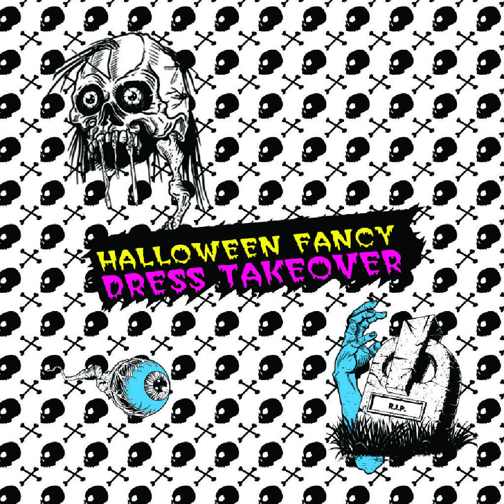 Halloween Fancy Dress Takeover ★