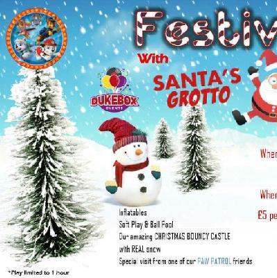 Santa's grotto and Festive fun day