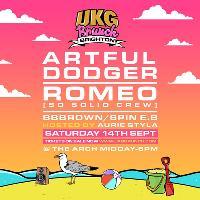 UKG Brunch Brighton - Artful Dodger, Romeo, Aurie Styla