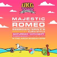 UKG Brunch Brighton - Majestic, Romeo, Aurie Styla