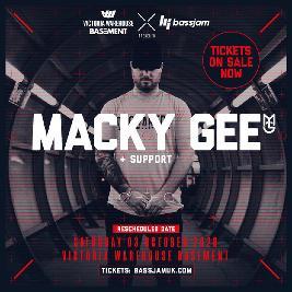 Reviews: BassJam Presents: Macky Gee + More TBA | VW Basement Manchester  | Sat 3rd October 2020