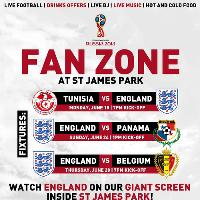 World Cup Fan Zone June 24 England v Panama