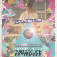 Embassy Events: Lauren Lo Sung Freshers Special