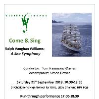 Come & Sing - Vaughan Williams: A Sea Symphony