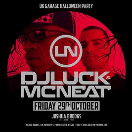 UKG Halloween Party W/ DJ Luck & MC Neat