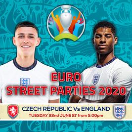Czech Republic Vs England - Euro 20' Street Party