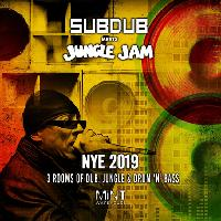 Subdub meets Jungle Jam NYE 2019