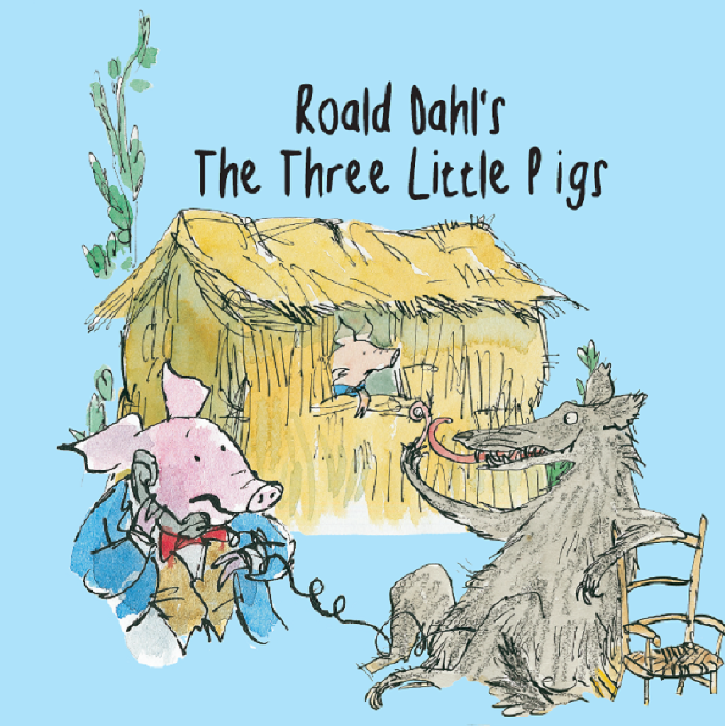 the three little pigs roald dahl Alphabetical index a through z alexander and the terrible, horrible, no good, very bad the three little pigs: by roald dahl.