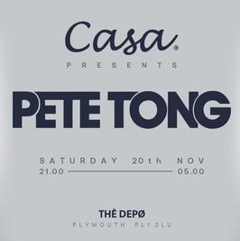 Casa prersents; Pete Tong