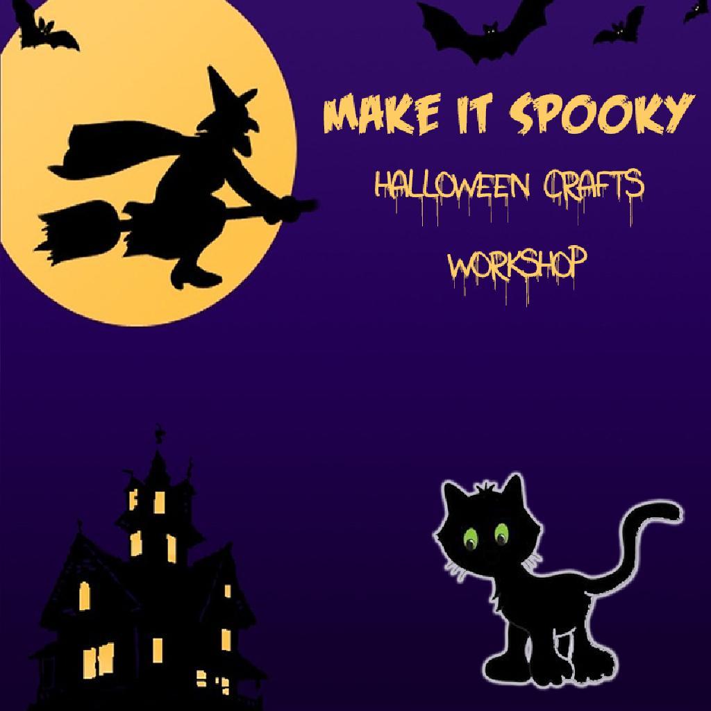Make It Spooky Halloween Crafts Workshop Sandpit