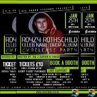 Royzy Rothschild Celeb Name Drop Album Launch Party