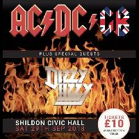 AC/DC GB plus special guests DIZZY LIZZY