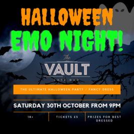 EMO NIGHT - HALLOWEEN SPECTACULAR