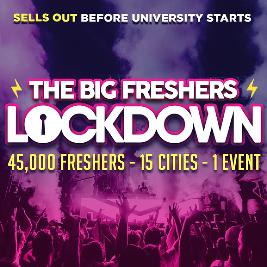 SHEFFIELD FRESHERS - THE BIG FRESHERS LOCKDOWN !!! Tickets | Code Sheffield  | Fri 2nd October 2020 Lineup