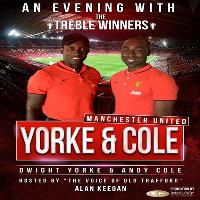 Sportsmans Dinner with Dwight Yorke & Andy Cole