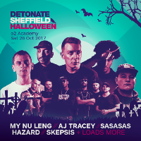Detonate Sheffield Halloween