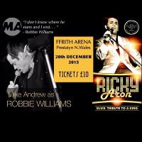 Robbie Meets Elvis Christmas Tribute Party Night
