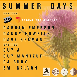 Music is the Answer presents Summer Days with Global Underground Tickets | Mains Castle Dundee Dundee  | Sat 3rd July 2021 Lineup